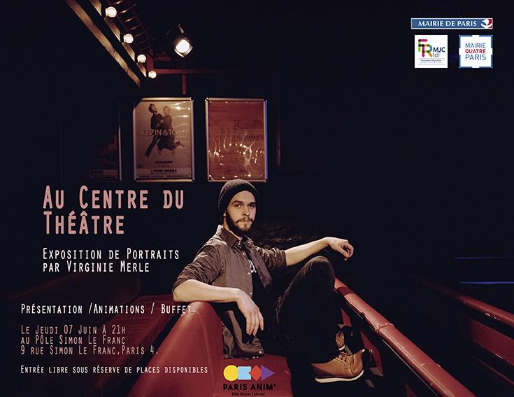 Exposition Au Centre du Théâtre